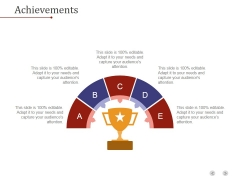 Achievements Template 1 Ppt PowerPoint Presentation Templates
