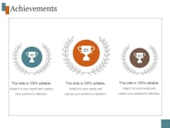 Achievements Template 2 Ppt PowerPoint Presentation Pictures
