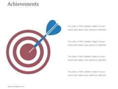 Achievements Template 2 Ppt PowerPoint Presentation Portfolio