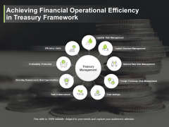 Achieving Financial Operational Efficiency In Treasury Framework Ppt PowerPoint Presentation Summary Slide Portrait