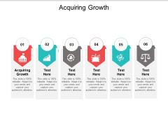 Acquiring Growth Ppt PowerPoint Presentation Professional Example Introduction Cpb