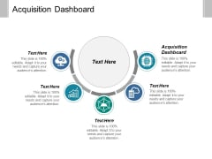 Acquisition Dashboard Ppt PowerPoint Presentation Portfolio Demonstration