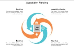 Acquisition Funding Ppt Powerpoint Presentation Show Elements Cpb