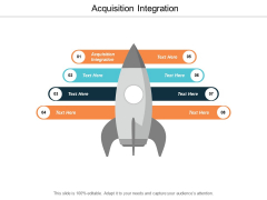 Acquisition Integration Ppt Powerpoint Presentation Icon Templates Cpb