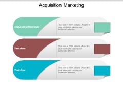 Acquisition Marketing Ppt PowerPoint Presentation Styles Objects Cpb