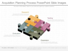 Acquisition Planning Process Powerpoint Slide Images