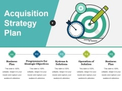 Acquisition Strategy Plan Ppt PowerPoint Presentation Pictures Maker
