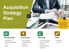 Acquisition Strategy Plan Template 2 Ppt PowerPoint Presentation Ideas Infographics