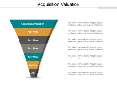 Acquisition Valuation Ppt PowerPoint Presentation Inspiration Icon Cpb