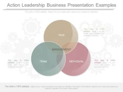 Action Leadership Business Presentation Examples