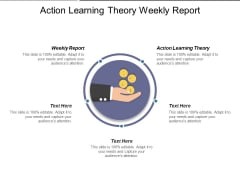Action Learning Theory Weekly Report Ppt PowerPoint Presentation Layouts Slideshow