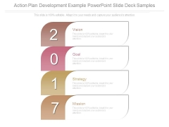Action Plan Development Example Powerpoint Slide Deck Samples