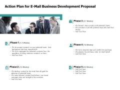 Action Plan For E Mail Business Development Proposal Teamwork Ppt PowerPoint Presentation Summary Ideas