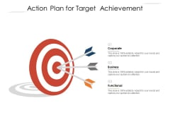 Action Plan For Target Achievement Ppt PowerPoint Presentation Styles Images