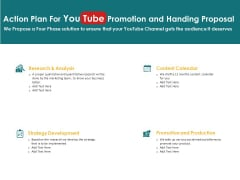 Action Plan For You Tube Promotion And Handing Proposal Analysis Ppt PowerPoint Presentation Show Visual Aids