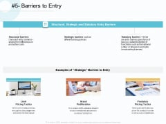 Action Plan Gain Competitive Advantage Barriers To Entry Ppt Icon Inspiration PDF