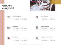Action Plan Or Hospitality Industry Restaurant Management Sample PDF