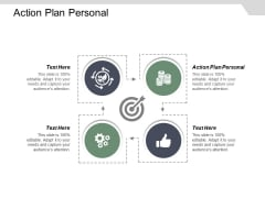 Action Plan Personal Ppt Powerpoint Presentation Gallery Show Cpb
