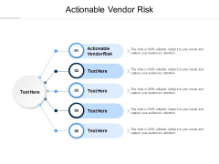 Actionable Vendor Risk Ppt PowerPoint Presentation Summary Themes Cpb Pdf