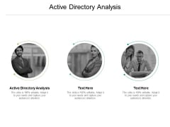 Active Directory Analysis Ppt PowerPoint Presentation Icon Design Templates Cpb Pdf