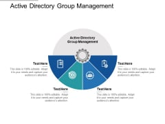 Active Directory Group Management Ppt PowerPoint Presentation Pictures Ideas Cpb