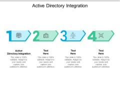 Active Directory Integration Ppt PowerPoint Presentation Outline Deck Cpb Pdf