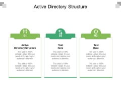 Active Directory Structure Ppt PowerPoint Presentation Inspiration Show Cpb Pdf