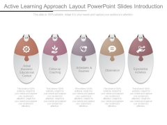 Active Learning Approach Layout Powerpoint Slides Introduction