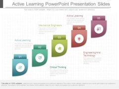 Active Learning Powerpoint Presentation Slides