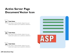 Active Server Page Document Vector Icon Ppt PowerPoint Presentation Gallery Design Inspiration PDF