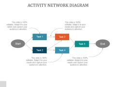 Activity Network Diagram Ppt PowerPoint Presentation Show