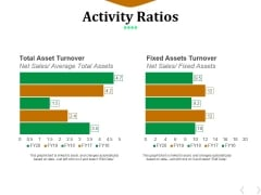 Activity Ratios Template 4 Ppt PowerPoint Presentation Pictures Example File