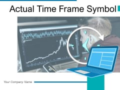 Actual Time Frame Symbol Business Analytics Ppt PowerPoint Presentation Complete Deck