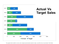 Actual Vs Target Sales Slide Financial Ppt PowerPoint Presentation Outline Graphics Tutorials
