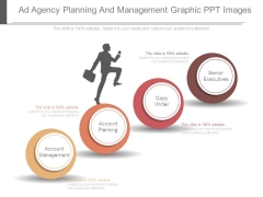 Ad Agency Planning And Management Graphic Ppt Images