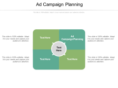 Ad Campaign Planning Ppt PowerPoint Presentation Portfolio Examples Cpb Pdf