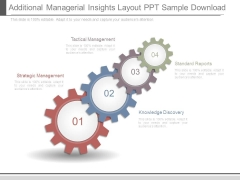 Additional Managerial Insights Layout Ppt Sample Download