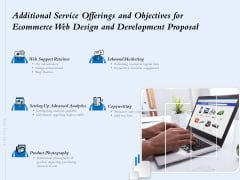 Additional Service Offerings And Objectives For Ecommerce Web Design And Development Proposal Ppt Ideas Gridlines PDF