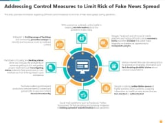 Addressing Control Measures To Limit Risk Of Fake News Spread Structure PDF