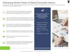 Addressing Market Trends Of Global Convention Industry Themes PDF