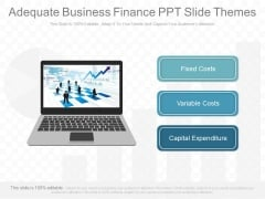 Adequate Business Finance Ppt Slides Themes