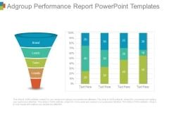 Adgroup Performance Report Powerpoint Templates