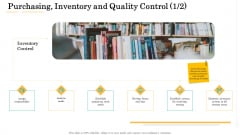 Administrative Regulation Purchasing Inventory And Quality Control Ppt PowerPoint Presentation Icon Deck PDF