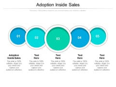 Adoption Inside Sales Ppt PowerPoint Presentation Infographics Vector Cpb Pdf