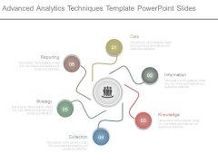 Advanced Analytics Techniques Template Powerpoint Slides