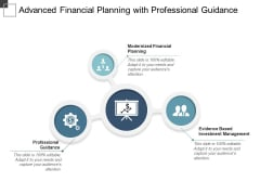 Advanced Financial Planning With Professional Guidance Ppt PowerPoint Presentation Professional Sample