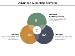 Advanced Marketing Services Ppt PowerPoint Presentation Gallery Graphics Template Cpb