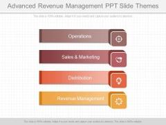 Advanced Revenue Management Ppt Slide Themes