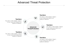 Advanced Threat Protection Ppt PowerPoint Presentation Pictures Example Cpb