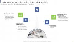 Advantages And Benefits Of Brand Narrative Mockup PDF